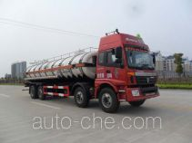 江淮扬天牌CXQ5310GFWBJ型腐蚀性物品罐式运输车