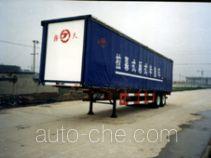 JAC Yangtian CXQ9271XXY box body van trailer