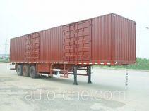 JAC Yangtian CXQ9402XXY box body van trailer