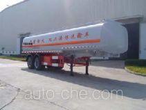 JAC Yangtian CXQ9292GHY chemical liquid tank trailer