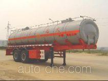 JAC Yangtian CXQ9330GHY chemical liquid tank trailer