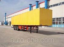 JAC Yangtian CXQ9341XXY box body van trailer