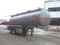 江淮扬天牌CXQ9350GFW型腐蚀性物品罐式运输半挂车