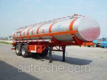 JAC Yangtian CXQ9350GHY chemical liquid tank trailer