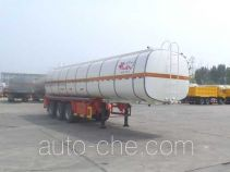 JAC Yangtian CXQ9381GRY flammable liquid tank trailer