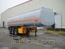 JAC Yangtian CXQ9390GHY chemical liquid tank trailer