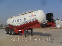 JAC Yangtian CXQ9400GFLK medium density bulk powder transport trailer