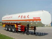 JAC Yangtian CXQ9400GHY chemical liquid tank trailer