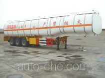JAC Yangtian CXQ9400GHYBW insulated chemical liquid transport trailer