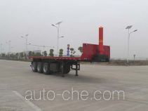 JAC Yangtian flatbed dump trailer