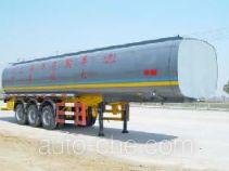 JAC Yangtian CXQ9401GHY chemical liquid tank trailer