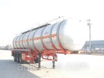 JAC Yangtian CXQ9401GRY flammable liquid tank trailer