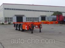 江淮扬天牌CXQ9401TWY型危险品罐箱骨架运输半挂车