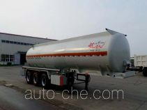 江淮扬天牌CXQ9402GFW型腐蚀性物品罐式运输半挂车