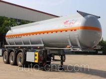 江淮扬天牌CXQ9403GFW型腐蚀性物品罐式运输半挂车