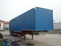 JAC Yangtian CXQ9403XXY box body van trailer
