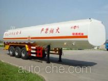 JAC Yangtian CXQ9404GHY chemical liquid tank trailer