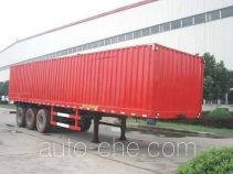 JAC Yangtian CXQ9405XXY box body van trailer