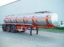 JAC Yangtian CXQ9407GHY chemical liquid tank trailer