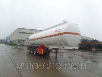 江淮扬天牌CXQ9408GFW型腐蚀性物品罐式运输半挂车