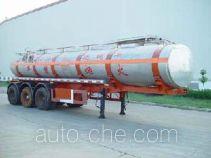 JAC Yangtian CXQ9408GHY chemical liquid tank trailer