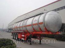 JAC Yangtian CXQ9408GHYA chemical liquid tank trailer