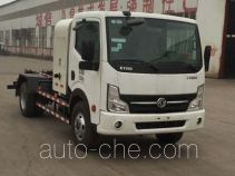 Yongkang electric hooklift hoist garbage truck