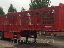 永康牌CXY9383CCY型仓栅式运输半挂车