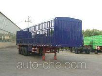 永康牌CXY9390CLX型仓栅式运输半挂车