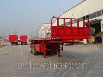 Longyida flatbed dump trailer
