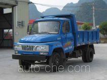 都兴牌DA2810CD1型自卸低速货车