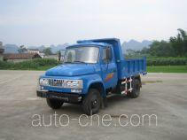 都兴牌DA2815CD型自卸低速货车