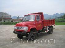 都兴牌DA2815CDS型自卸低速货车