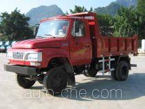 都兴牌DA4015CDS型自卸低速货车