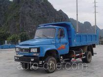 都兴牌DA5815CD型自卸低速货车