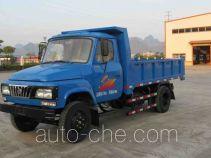 都兴牌DA5815CD1型自卸低速货车