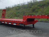 炫虎牌DAT9400TDP型低平板半挂车