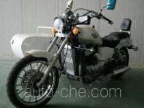 Regal Raptor motorcycle with sidecar