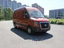 Huanghai DD5040XXYAM box van truck