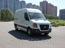 Huanghai DD5040XXYDM box van truck