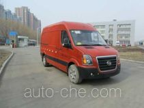 Huanghai DD5043XXYDM box van truck