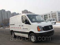 Huanghai DD5045XXYAM box van truck