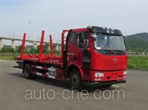 Huanghai DD5161TYC pipe transport truck