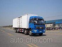 Huanghai DD5241XXY box van truck