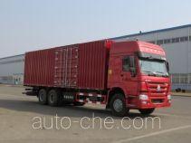 Huanghai DD5250XXY box van truck