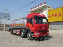 Huanghai DD5310GFW corrosive substance transport tank truck