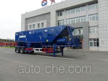 黄海牌DD9190TSH型油田砂浆混合传送半挂车