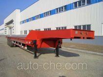 黄海牌DD9280TDP型低平板半挂车