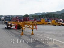 Huanghai DD9350TJZA container transport trailer
