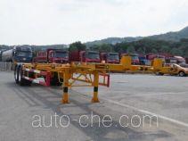 黄海牌DD9350TJZA型集装箱运输半挂车